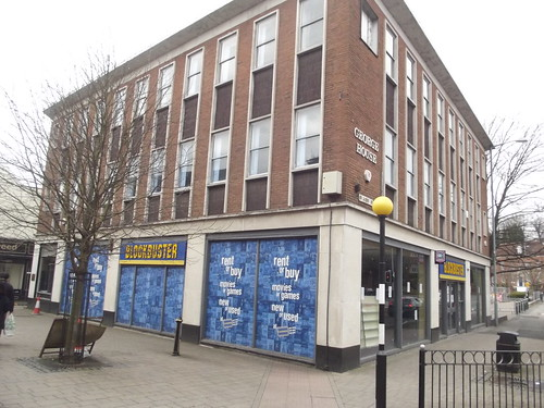 Blockbuster - George House - Worcester Road, Bromsgrove - closed for good