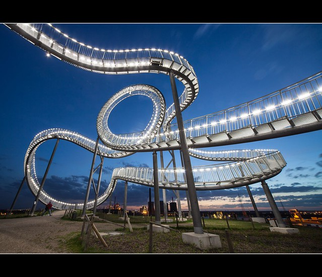 Tiger And Turtle Magic Mountain In Duisburg Flickr