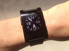 """TH10"" Pebble watch"