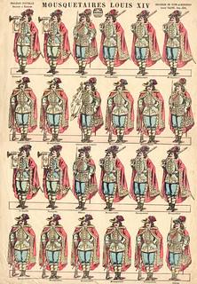 mousquetaires louis XIV