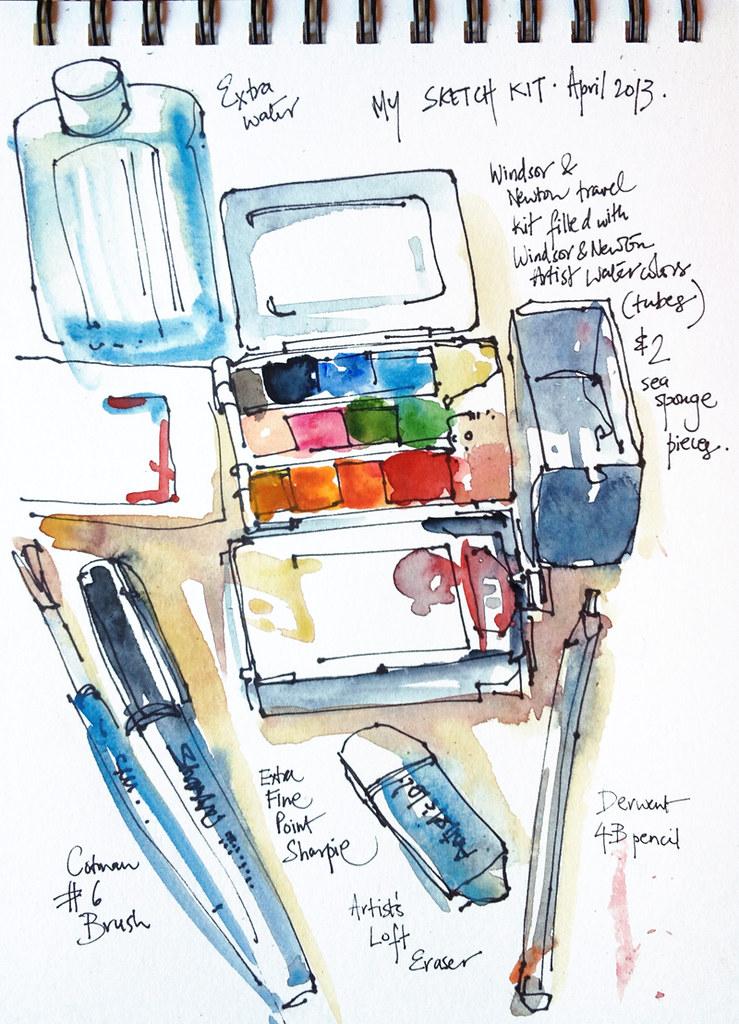 Sketch kit, 2013