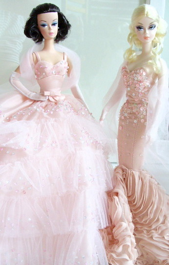 BFMC In the pink 2000 and Mermaid gown 2013
