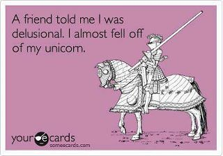 Almost fell off my unicorn