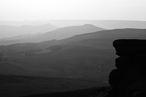Stanage Edge Sunset