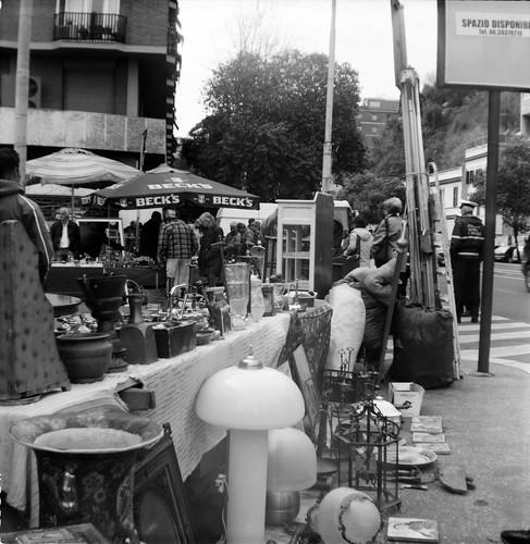 Porta Portese Flea Market in Rome