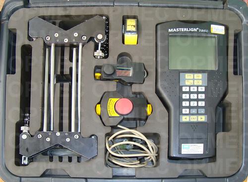 Sistema de Alinhamentos à Laser Prüftechnik modelo MASTERLIGN – Basic