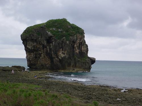 @鵝鑾鼻海岸一帶礁岩
