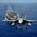 An F/A-18 Hornet demonstrates air power. by Official U.S. Navy Imagery