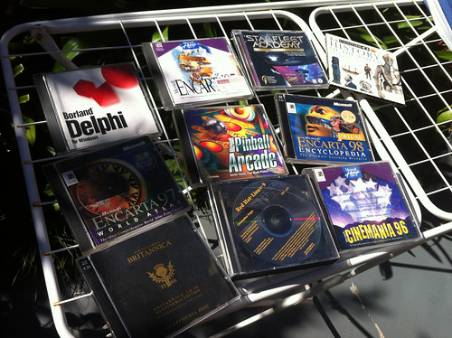 My classic CD-ROM haul!