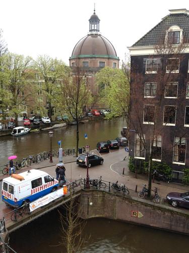 Amsterdam - Brouwersgracht and Singel