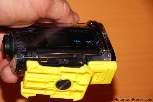 Halteplatte Sony HDR-AS15