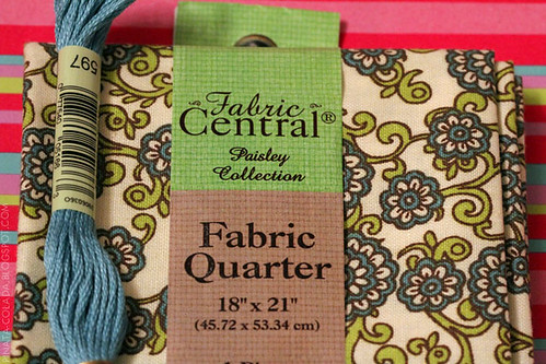 Fat Quarter & Embroidery Thread
