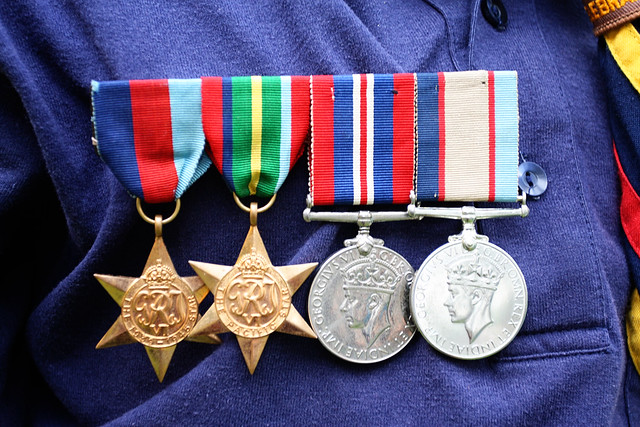 Uncle Alf's medals