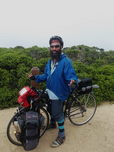 Ras on his Trek 520