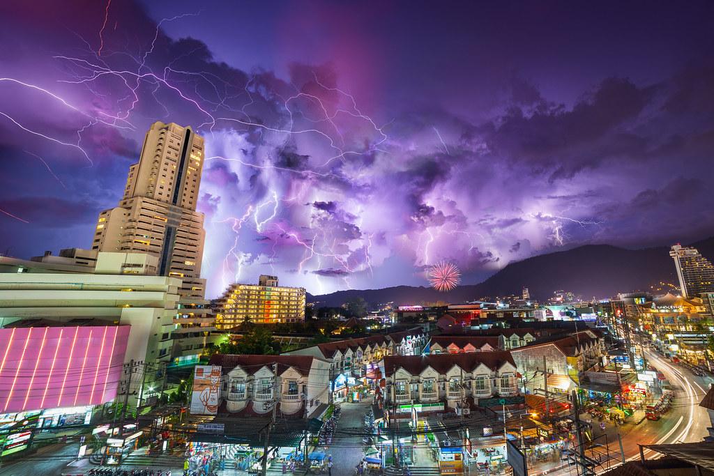 Thunderstorm Over Phuket