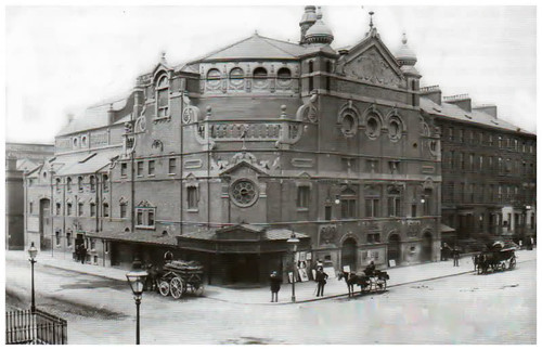 Glengall Street and the Palace Theatre