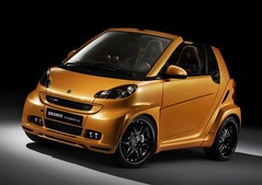 bronze orange custom smart car 2008-brabus-ultimate-112-based-on-smart-fortwo-front-angle-view-588x441