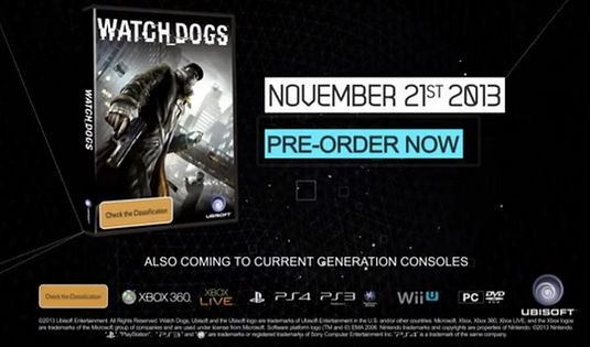 Дата выхода Watch Dogs