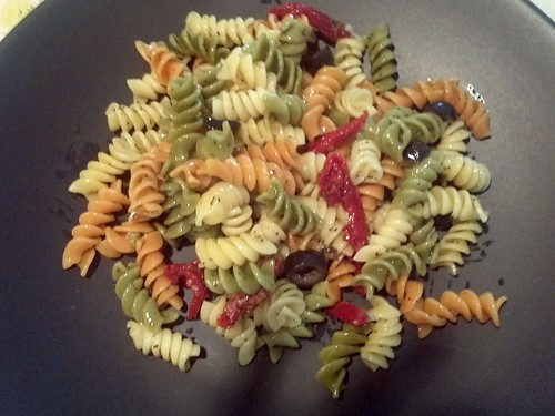 home made pasta salad