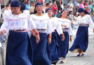 ecuador parade