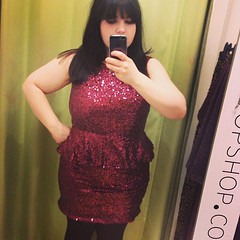 Mildly ridiculous dress from topshop is £5 down from £65, y\n??