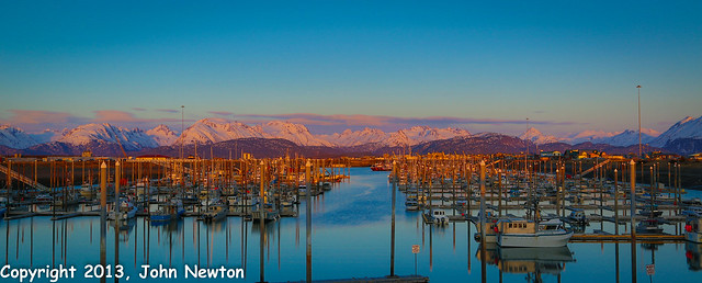 Homer Harbor, Homer Alaska