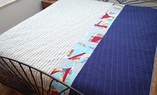 Feather Bed Quilt (back)