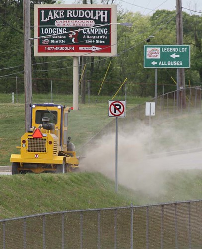 INDOT trimming and cleaning for opening