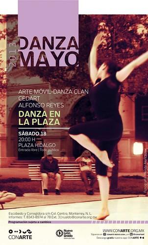 Danza en la Plaza - Arte Móvil Danza Clan y CEDART Alfonso Reyes