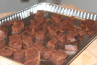 chocolate croutons