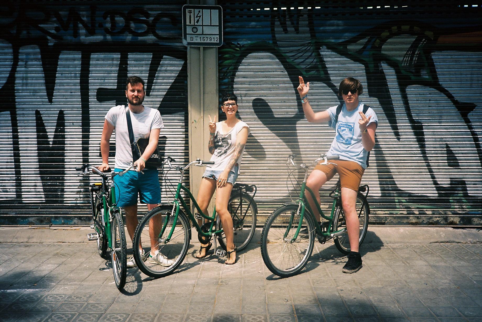 Bike hire.