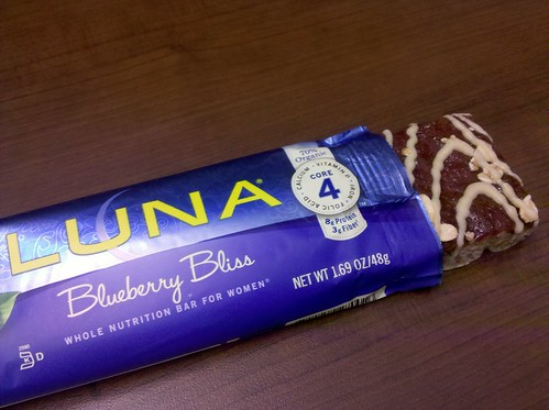 Blueberry Bliss Luna Bar