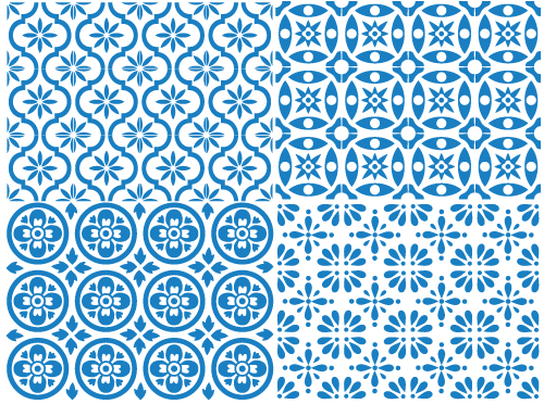 Spanish-Tile-sketches