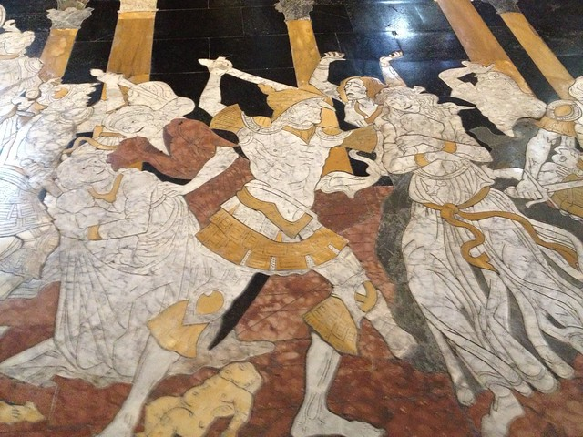 Slaughter of the Innocents, Siena mosaic