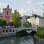 Classic View of Ljubljana