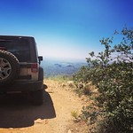 The Adventures of Sandy the Jeep - Queen's Valley Loop by bartlewife