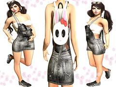 ~ϻ:Cindy Sport Top Skirt Overalls Outfit