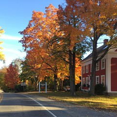 Idyllic #maine #autumn #foliage #newengland image! :heart:️:fallen_leaf::maple_leaf: