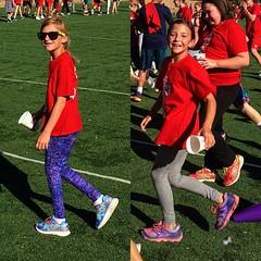 Crushed it! #fastestdaughtersever #daddysgirls #fitnessmodels #lovers