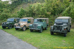 Amberley Museum, Classic Land Rover Day, 2nd October 2016