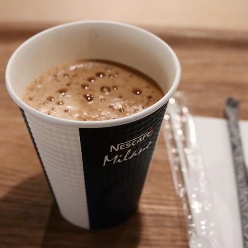 オズマガジン10月号を読んで、そこに書いてある合言葉を伝えると、コーヒー一杯(250円)が無料に。