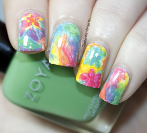 Zoya Stunning Watercolor Mani (2)