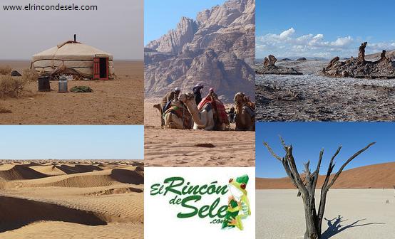 Los 5 desiertos más hermosos que he visto jamás