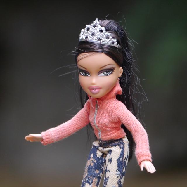 Bratz Doll with Tiara