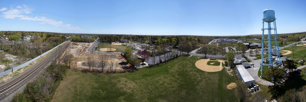 Brentwood Watertower Panorama, NY
