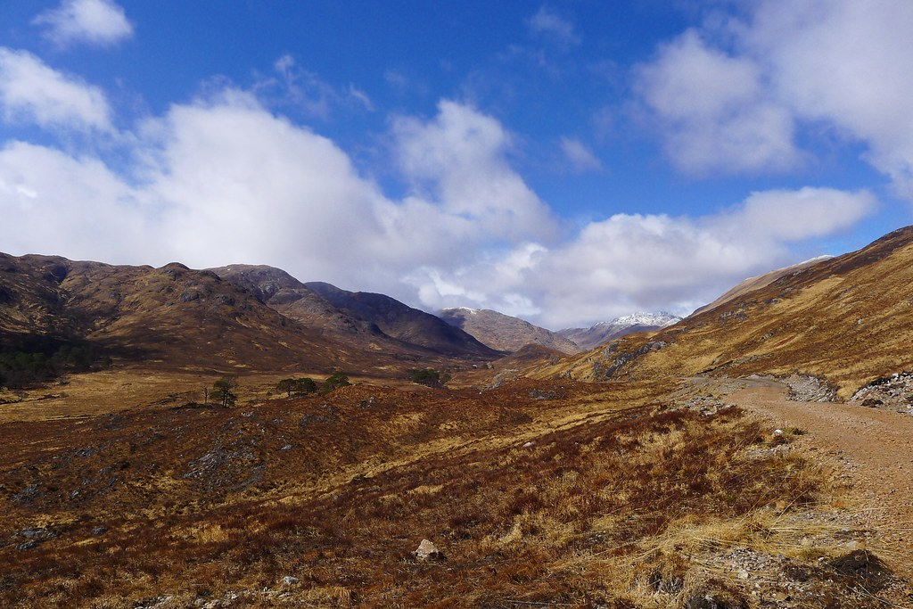 Towards the head of Cona Glen
