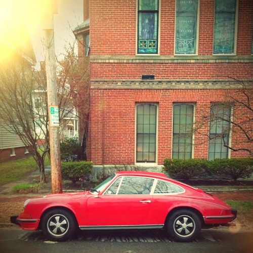 #JohnCalvinStevens 's grandson's #Porsche911 #Maine