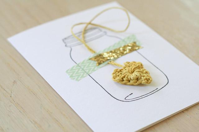 DIY Mother's Day crochet cards | yourwishcake.com