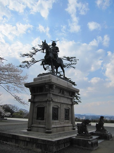 伊達政宗騎馬像(仙台城)・・・2013.4.22 by Poran111
