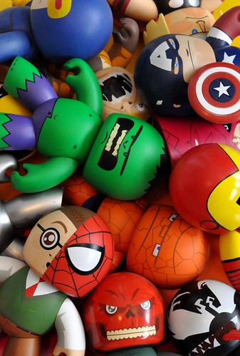 Marvel Mighty Muggs!